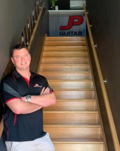 Meet John from JP Guitar Studio Music Redlands Brisbane portrait