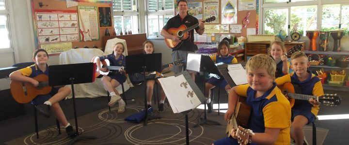 School Guitar Program group lessons redlands brisbane