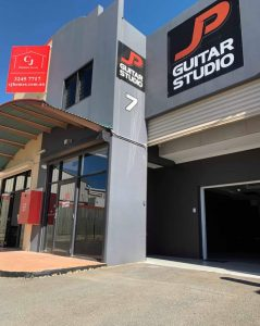 JP Guitar Music Studio Brisbane Redlands Exterior Street View portrait